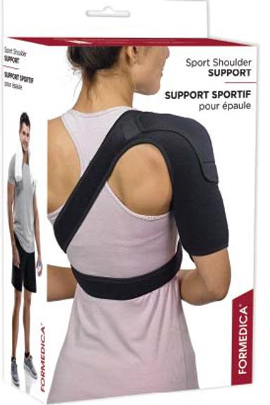 Support sportif pour épaule