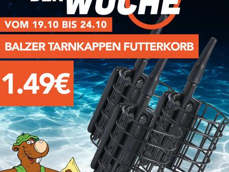 Der neue Schnapp der Woche!🥳Balzer Tarnkappen Futterkörbe nur 1.49€! Nur vom 19.10 bis 24.10.🎣