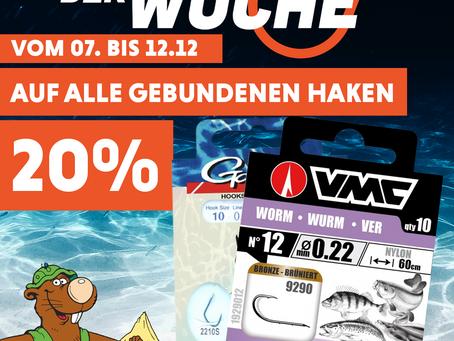 Der neue Schnapp der Woche❗😍💥Auf alle gebundenen Haken 20%💥Vom 07.12 bis 12.12❗