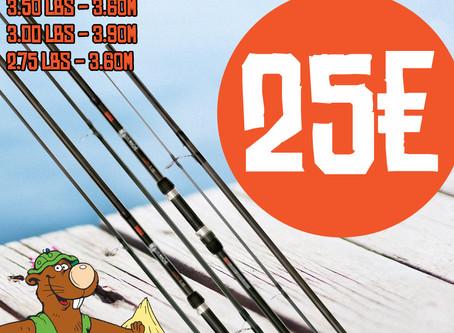 Unser Angeln Angebot vom 20. bis 25.07!