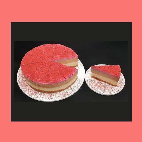 Peanut – Choco – Raspberry Cheesecake