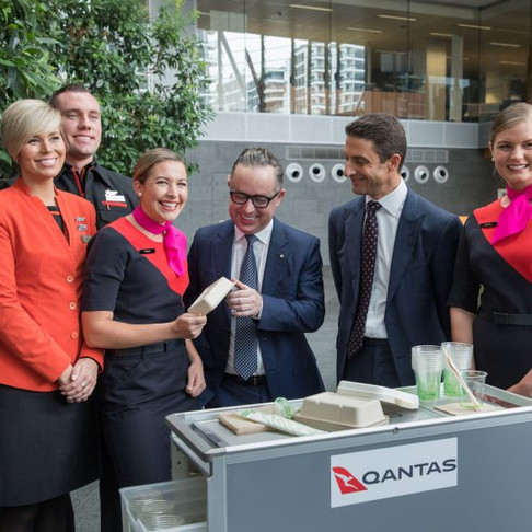 Qantas Set to Rid Plastic!