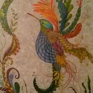 Kolibri byTangle, Papier 50x70