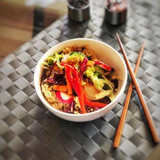 Plant-based antioxidant bowl