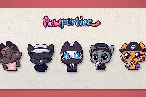 Cat Pins!