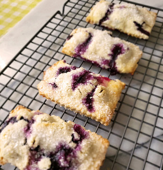 Bungalow Chef's Handheld Blueberry Pies