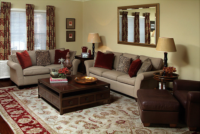Family room, Shaker Heights, Ohio