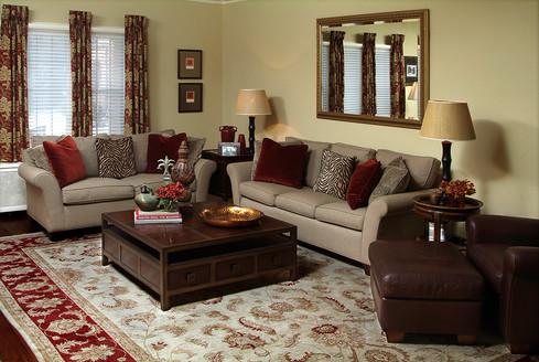 Family room, Shaker Heights, Ohio