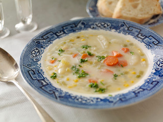 Holiday Corn Chowder