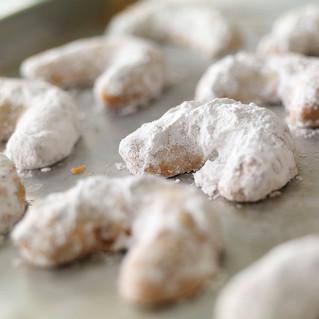 Great-Grandma Rose Schade's Pecan Crescent Cookies
