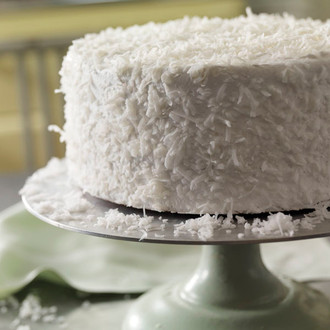 The Bungalow Chef's Coconut Cake