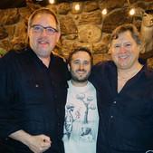 Mike with Chef Norman Van Aken and Chef Justin Van Aken