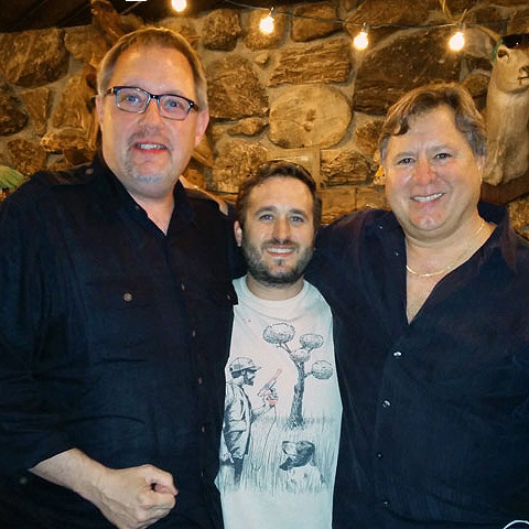 Mike with Chef Norman Van Aken and Chef Justin Van Aken