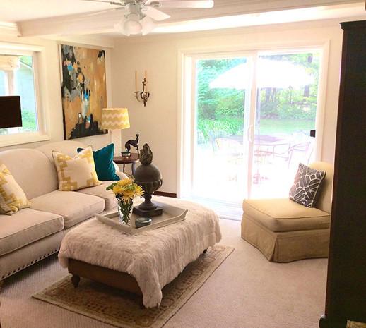 Living room, Chagrin Falls, Ohio