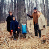 Maple syrup adventure with family