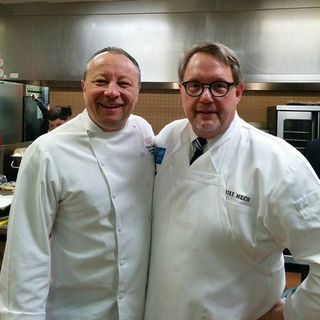 Mike and chef