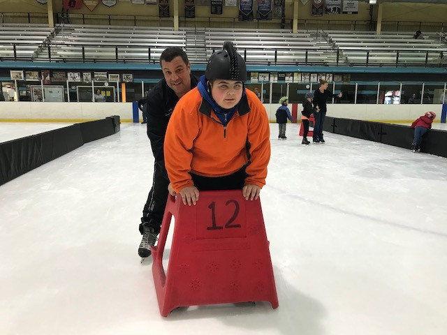My first day ever on the ice!