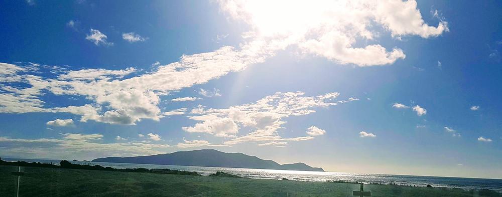 Summer at Peka Peka beach