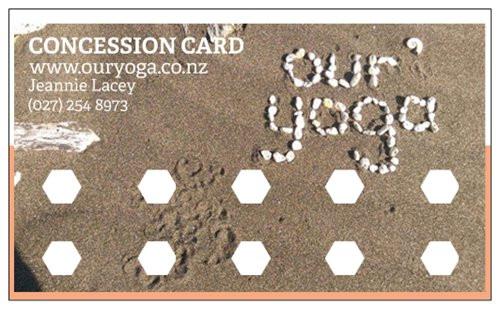 Concession Card