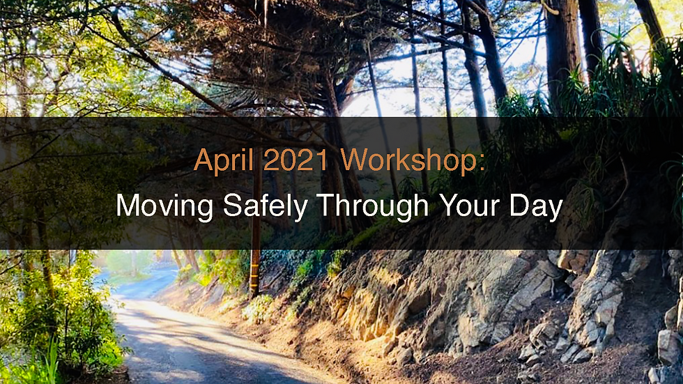 Moving Safely Through Your Day Workshop