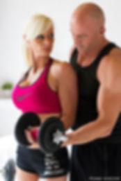 Photographe Professionnel Lille Sport Sportif Publicitaire bodybuilding musculation couple