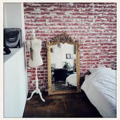 Mur brique façon Chambre