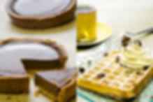 Photographe professionnel lille photographie roubaix studio pierre magne food culinaire repas plat restaurant dessert tarte chocolat recette gauffre chantilly