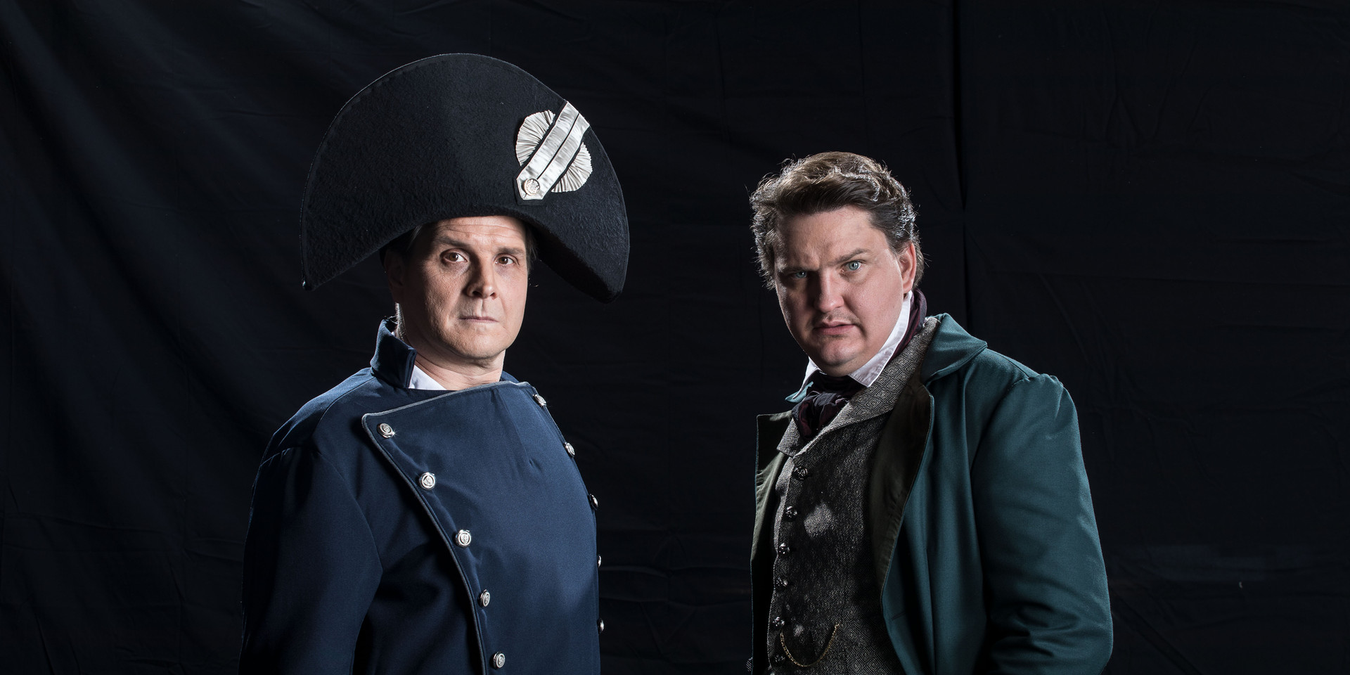 Inspector Javert and Jean Valjean