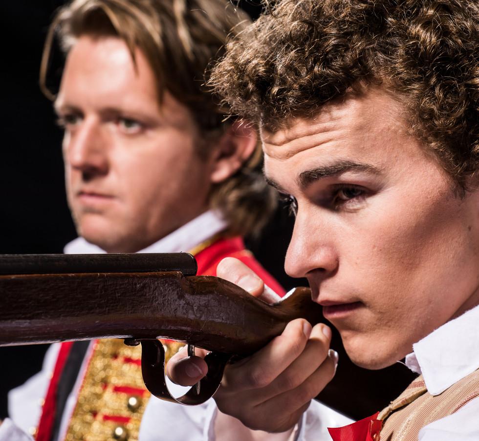 Enjolras and Marius