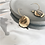 Thumbnail: Round Metal Earrings