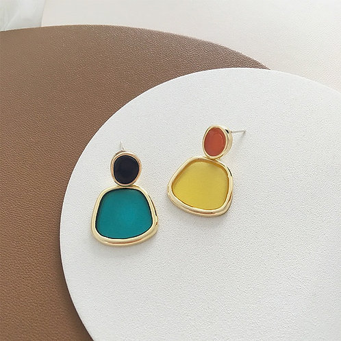 Mixed Color Earrings