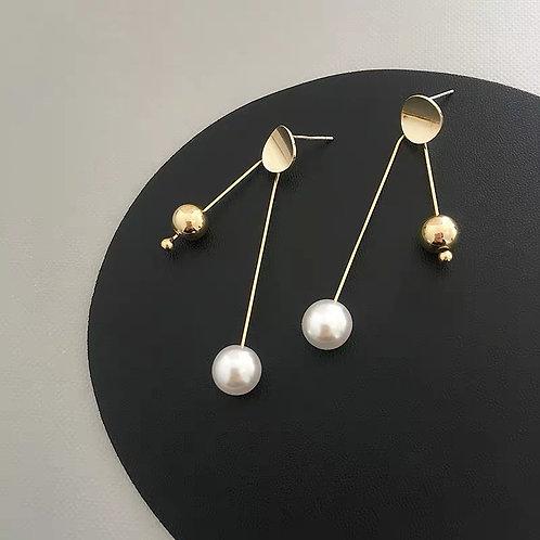 Geometric Linear Earrings