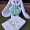 Thumbnail: Helen the bunny with pinafore dress