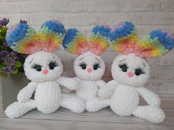 Rainbow mini bunnies