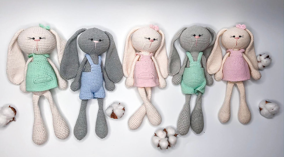 Cotton bunnies