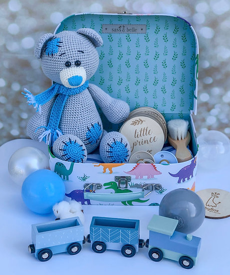 """Medium box """"Cotton teddy bear"""""""