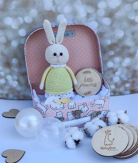 "Small box ""Polly the bunny """