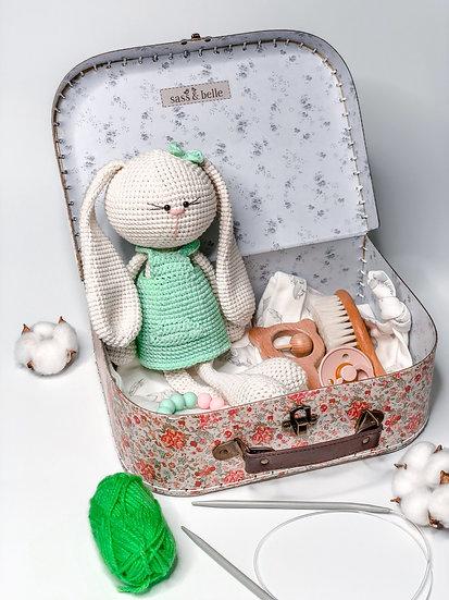 """Medium box """"Olivia the bunny"""""""