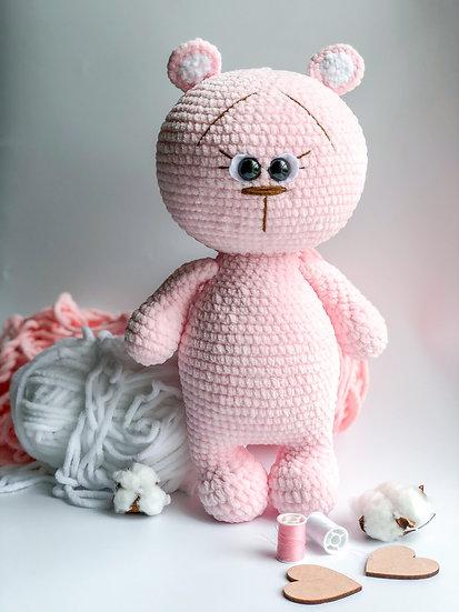 Large teddy bear MISHA