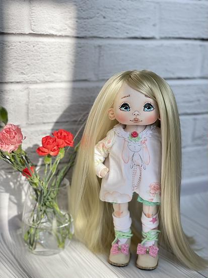 Interior textile doll