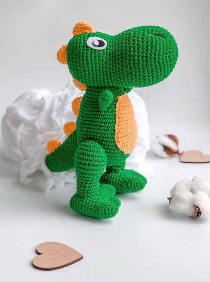 Dino cotton toy