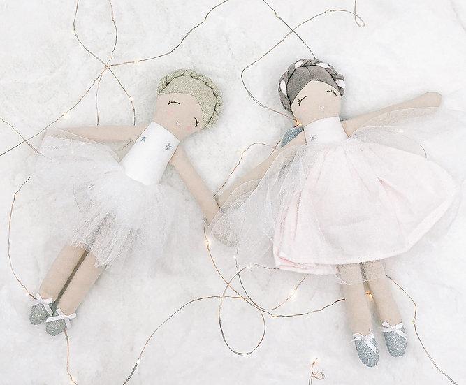 Princess ballerina doll in a box.