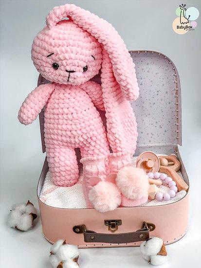 "Medium box "" Pink ears"""
