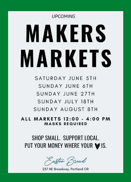 portland pop up market, makers market, bipoc market, pop up, portland farmers market, unique markets, pdx moon market, portland night market, vancouver night market