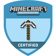 Certified_Badge Minecraft for Education.