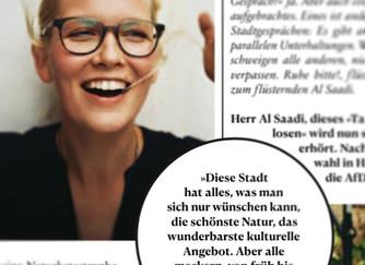 Stadtgespräch Süddeutsche Zeitung Magazin