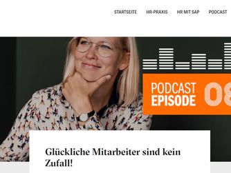 """HR HEUTE Podcast """"Glückliche Mitarbeiter sind kein Zufall"""""""