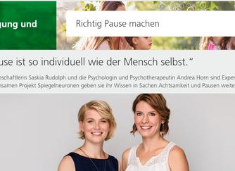 Pause! Interview mit der AOK Sachsen-Anhalt