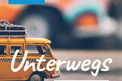 Inspiration & Work Journal °2: Unterwegs