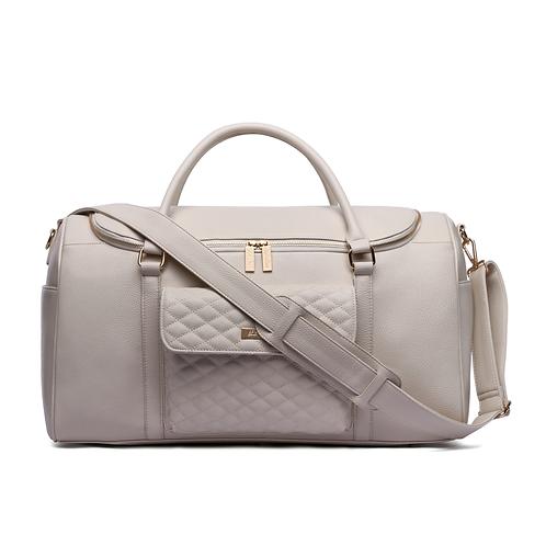 Monaco Travel Bag Pearl White